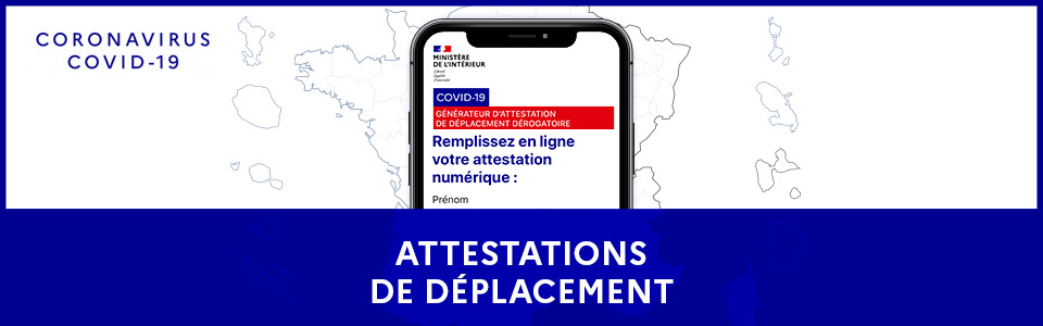 You are currently viewing Nouvelle attestation de déplacement