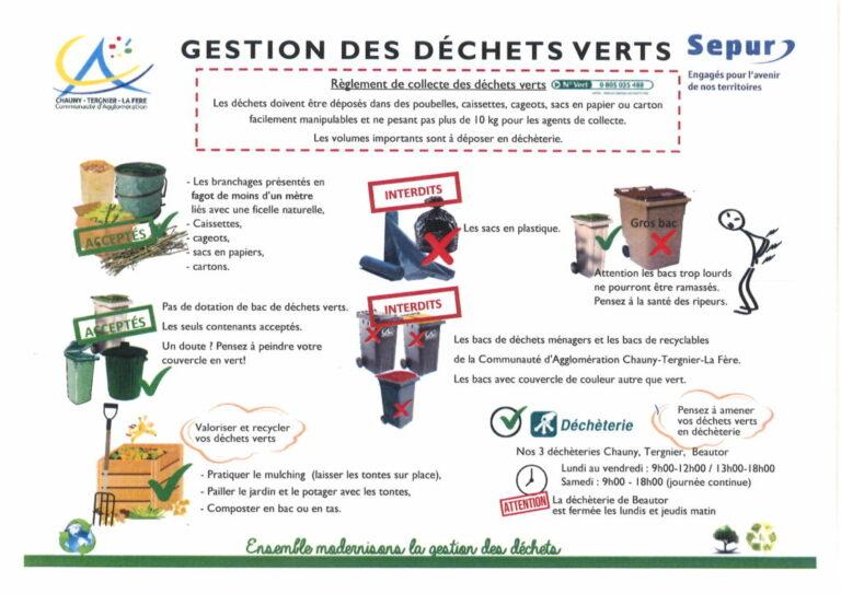 Read more about the article La gestion des déchets verts