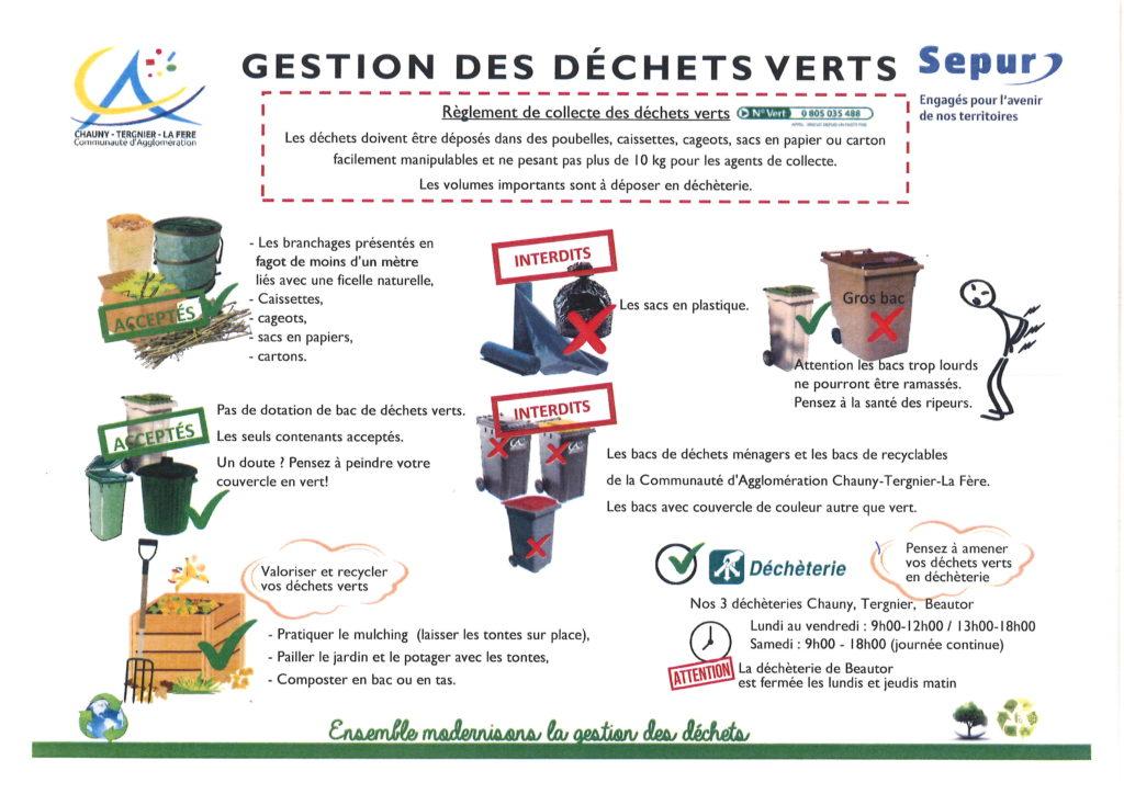 La gestion des déchets verts