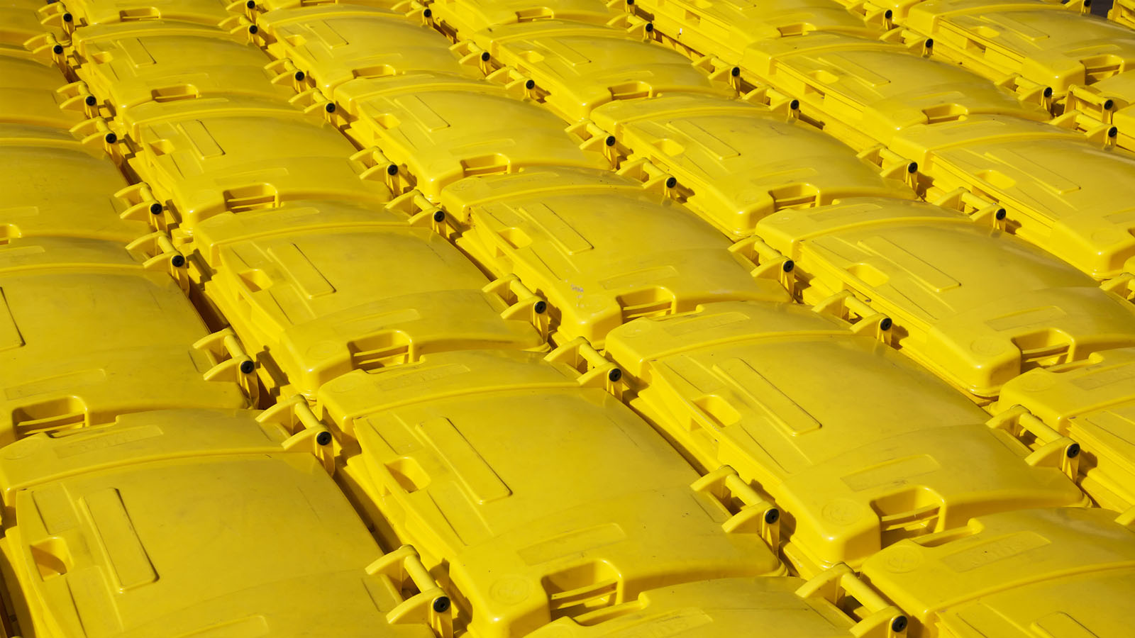 Ramassage des bacs jaunes