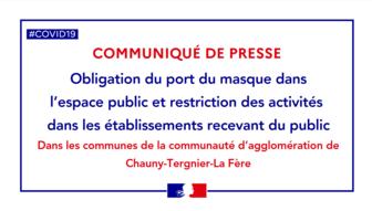 Communiqué de presse de la Préfecture