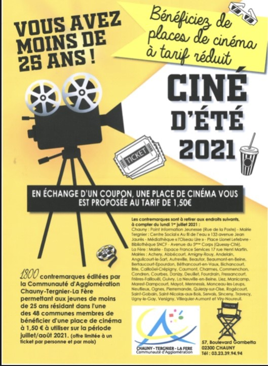 You are currently viewing Ciné d'Été 2021!