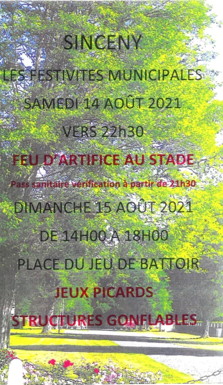 You are currently viewing Les Festivités Municipales
